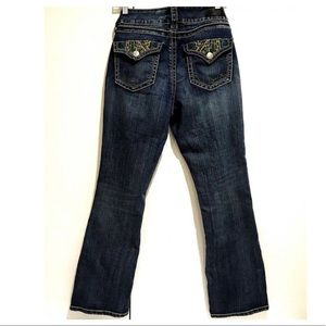 7 For All Mankind Distressed Boot Cut Jeans 8P